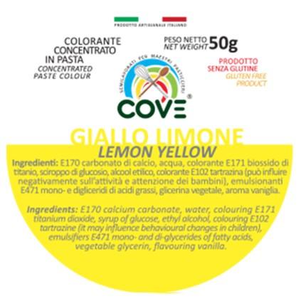 Colorante Concentrato in Pasta gr 50 - Giallo Limone