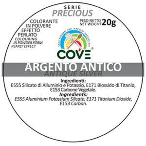 Coloranti in Polvere Perlati gr 20 - Argento Antico