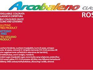 Arcobaleno Classic kg 1 - Rosso