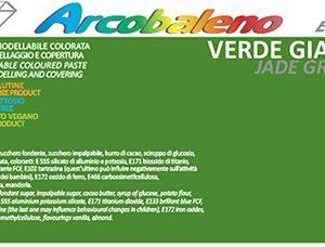 Arcobaleno Elite/Perlato kg 1- Verde Giada