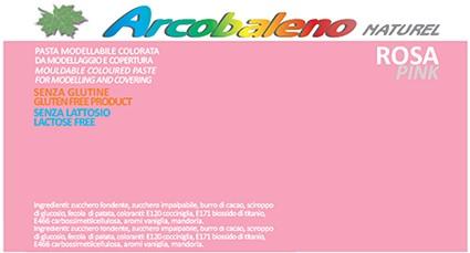 Arcobaleno Naturel kg 1 - Rosa