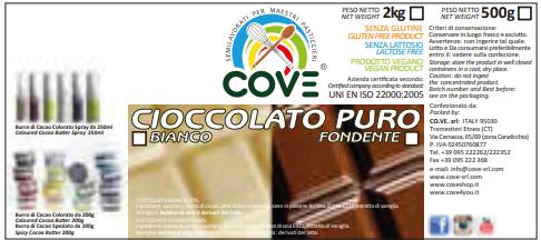 Cioccolato Puro Bianco g 500