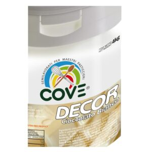 cove decor cioccolato bianco paste modellabili