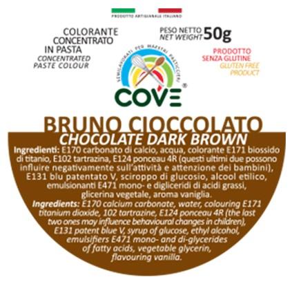 Colorante Concentrato in Pasta gr 50 - Bruno Cioccolato