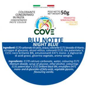 Colorante Concentrato in Pasta gr 50 - Blu Notte