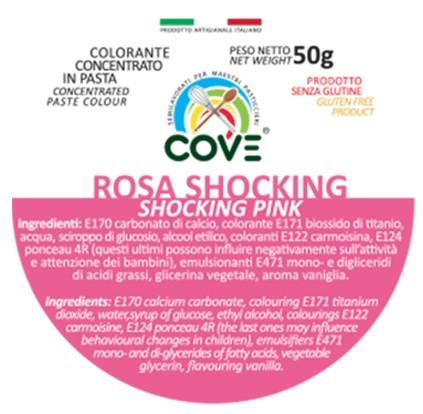 Colorante Concentrato in Pasta gr 50 - Rosa Shocking