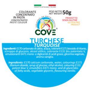 Colorante Concentrato in Pasta gr 50 - Turchese