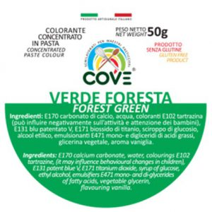 Colorante Concentrato in Pasta gr 50 - Verde Foresta