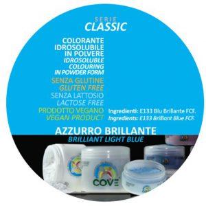 Coloranti in Polvere gr 100 - Azzurro Brillante