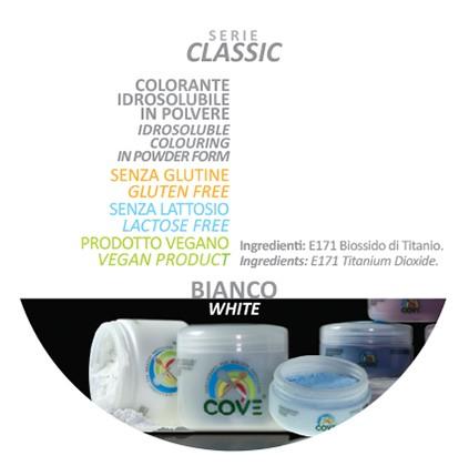 Coloranti in Polvere gr 100 - Bianco
