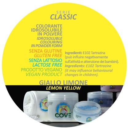 Coloranti in Polvere gr 100 - Giallo Limone