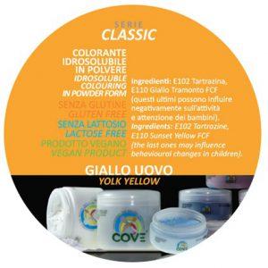 Coloranti in Polvere gr 100 - Giallo Uovo