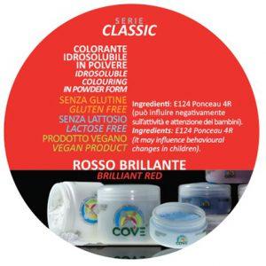 Coloranti in Polvere gr 100 - Rosso Brillante
