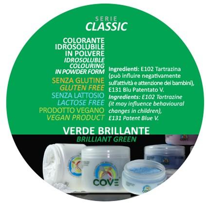 Coloranti in Polvere gr 100 - Verde Brillante
