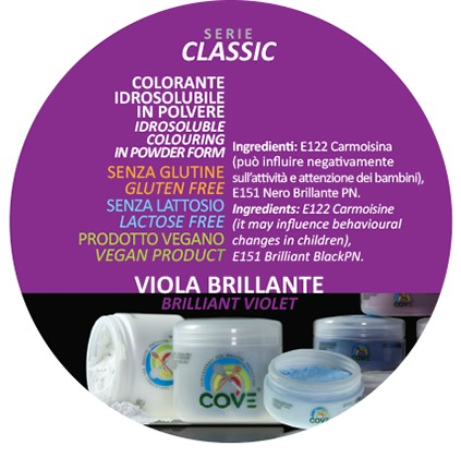 Coloranti in Polvere gr 100 - Viola Brillante