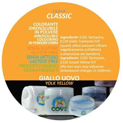 Coloranti in Polvere gr 500 - Giallo Uovo