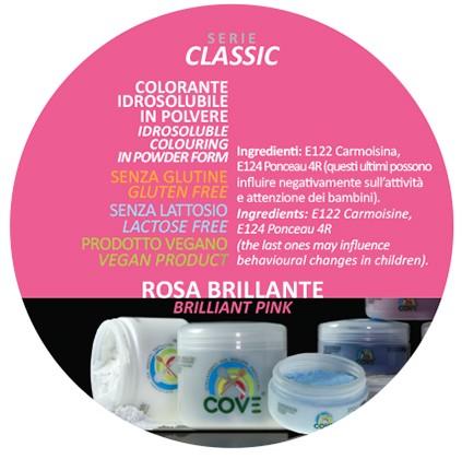 Coloranti in Polvere gr 500 - Rosa Brillante