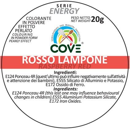 Coloranti in Polvere Perlati gr 20 - Rosso Lampone