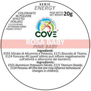Coloranti in Polvere Perlati gr 20 - Rosa Baby