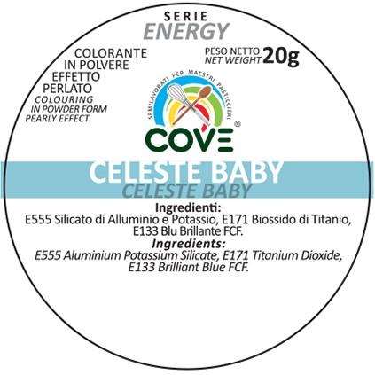 Coloranti in Polvere Perlati gr 20 - Celeste Baby