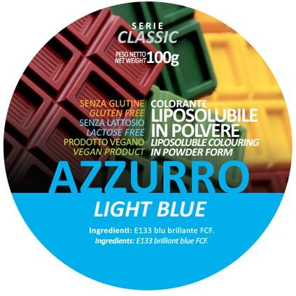 Coloranti Liposolubili in polvere g 100 - Azzurro