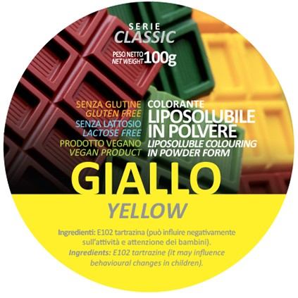 Coloranti Liposolubili in polvere g 100 - Giallo