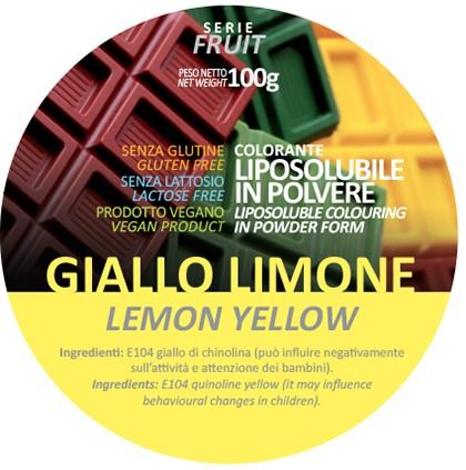 Coloranti Liposolubili in polvere g 100 - Giallo Limone