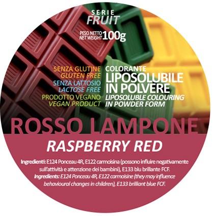 Coloranti Liposolubili in polvere g 100 - Rosso Lampone