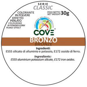 Coloranti In Polvere Effetto Perlato Serie Classic gr 30 - Bronzo