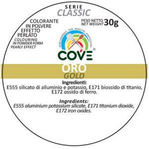 Coloranti In Polvere Effetto Perlato Serie Classic gr 30 - Oro