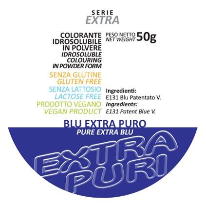 Coloranti in Polvere Serie EXTRA PURI gr 50 - Blu