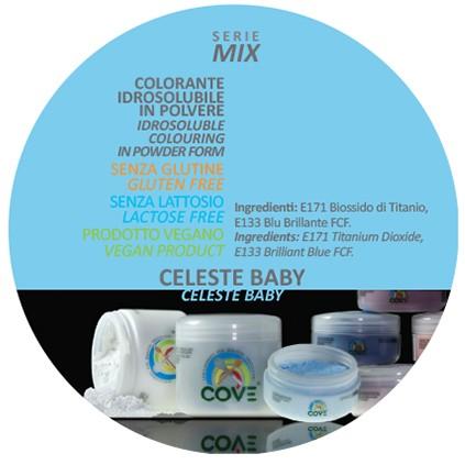 Coloranti in Polvere gr 100 - Azzurro Baby