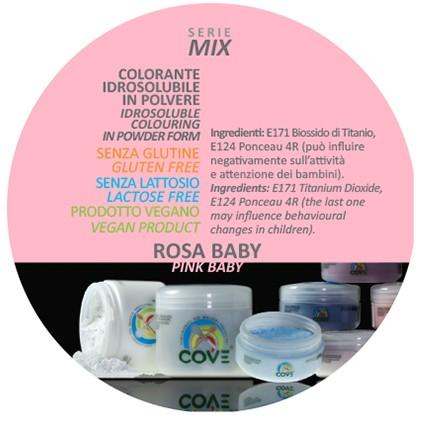 Coloranti in Polvere gr 100 - Rosa Baby