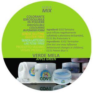 Coloranti in Polvere gr 100 - Verde Mela