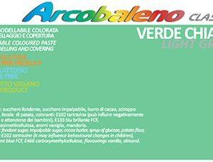 Arcobaleno Classic kg 1 - Verde Chiaro