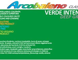Arcobaleno Classic kg 1 - Verde Intenso