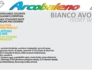 Arcobaleno Elite/Perlato kg 1- Bianco Avorio