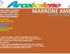 Arcobaleno Elite/Perlato kg 1- Marrone Ambra
