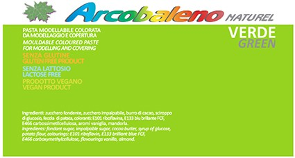 Arcobaleno Naturel kg 1 - Verde