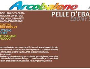 Arcobaleno Pelle/Skin kg 1 - Pelle d'Ebano