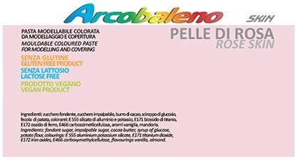 Arcobaleno Pelle/Skin kg 1 - Pelle di Rosa