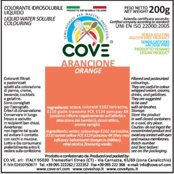 Coloranti Idrosolubili Liquidi gr 200 - Arancione
