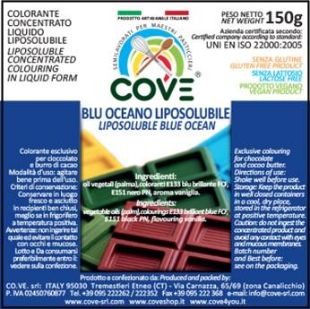 Coloranti Liposolubili in Oli Vegetali gr 150 - Blu Oceano