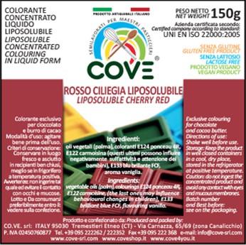 Coloranti Liposolubili in Oli Vegetali gr 150 - Rosso Ciliegia