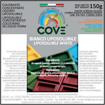 Coloranti Liposolubili in Oli Vegetali gr 150 - Bianco