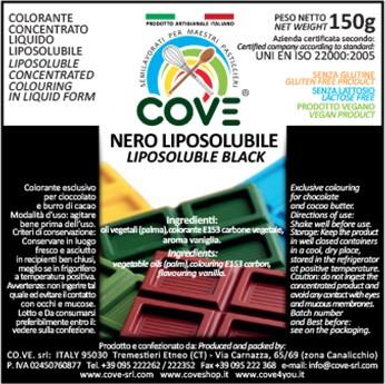 Coloranti Liposolubili in Oli Vegetali gr 150 - Nero Assoluto Extra