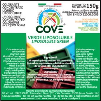Coloranti Liposolubili in Oli Vegetali gr 150 - Verde Brillante