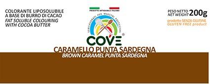 Coloranti Liposolubili in Burro di Cacao gr 200 - Caramello Punta Sardegna