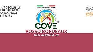 Coloranti Liposolubili in Burro di Cacao gr 200 - Rosso Bordeaux