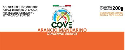 Coloranti Liposolubili in Burro di Cacao gr 200 - Arancio Mandarino